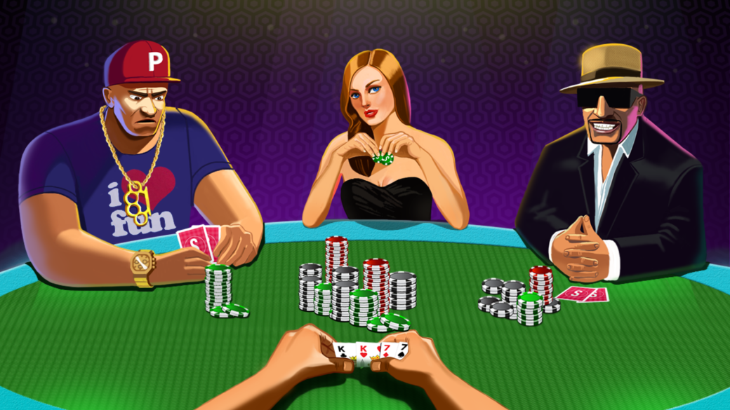 How to Play Poker cartoon - Free Poker Lessons